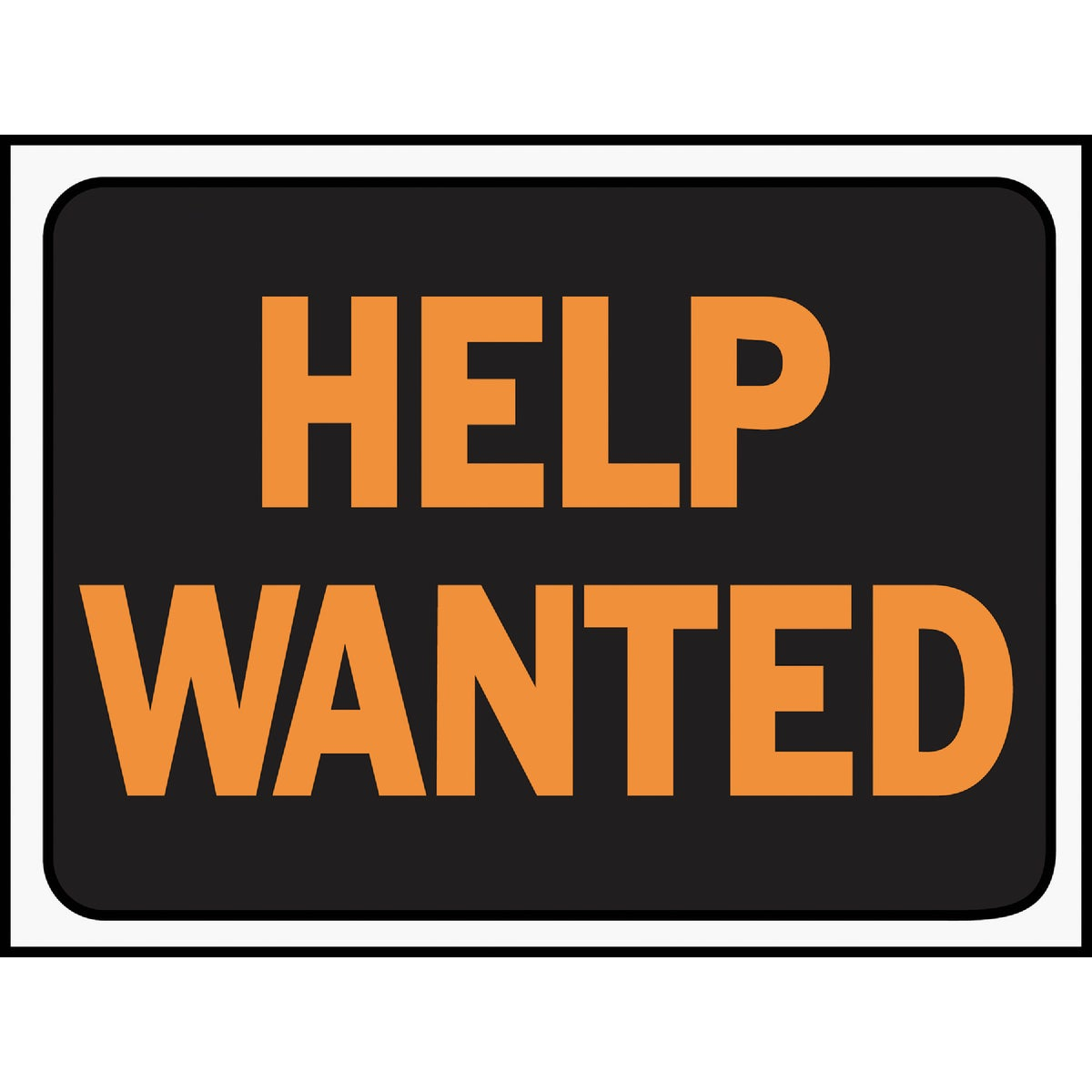 9X12 HELP WANTED SIGN - 3034 by Hy Ko Prods Co