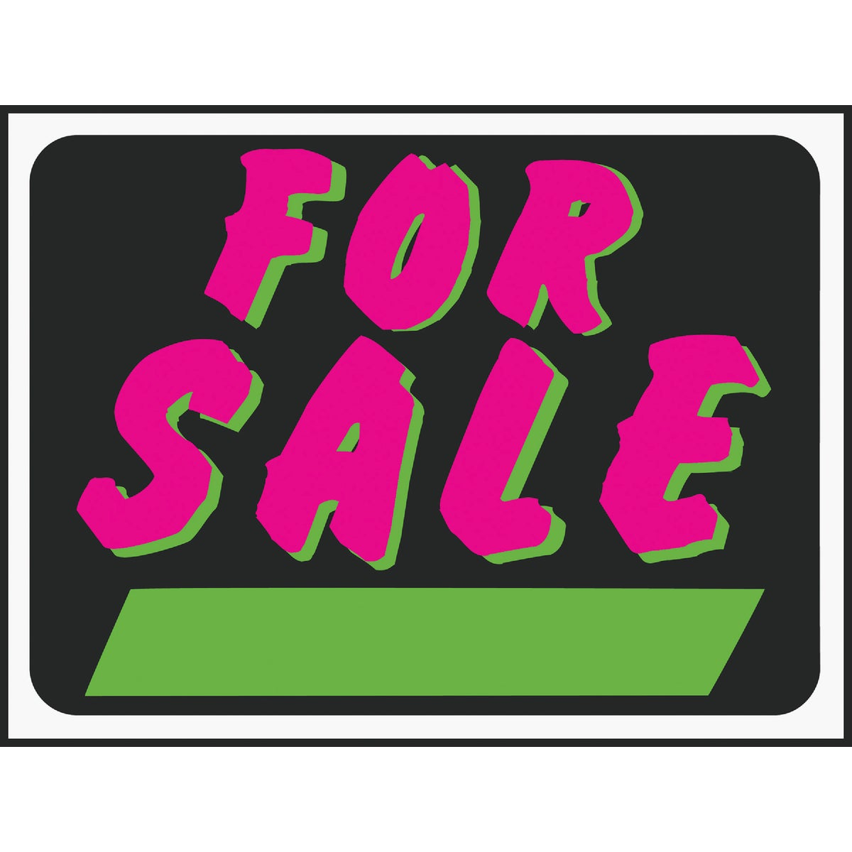 9X12 FOR SALE SIGN - 3041 by Hy Ko Prods Co