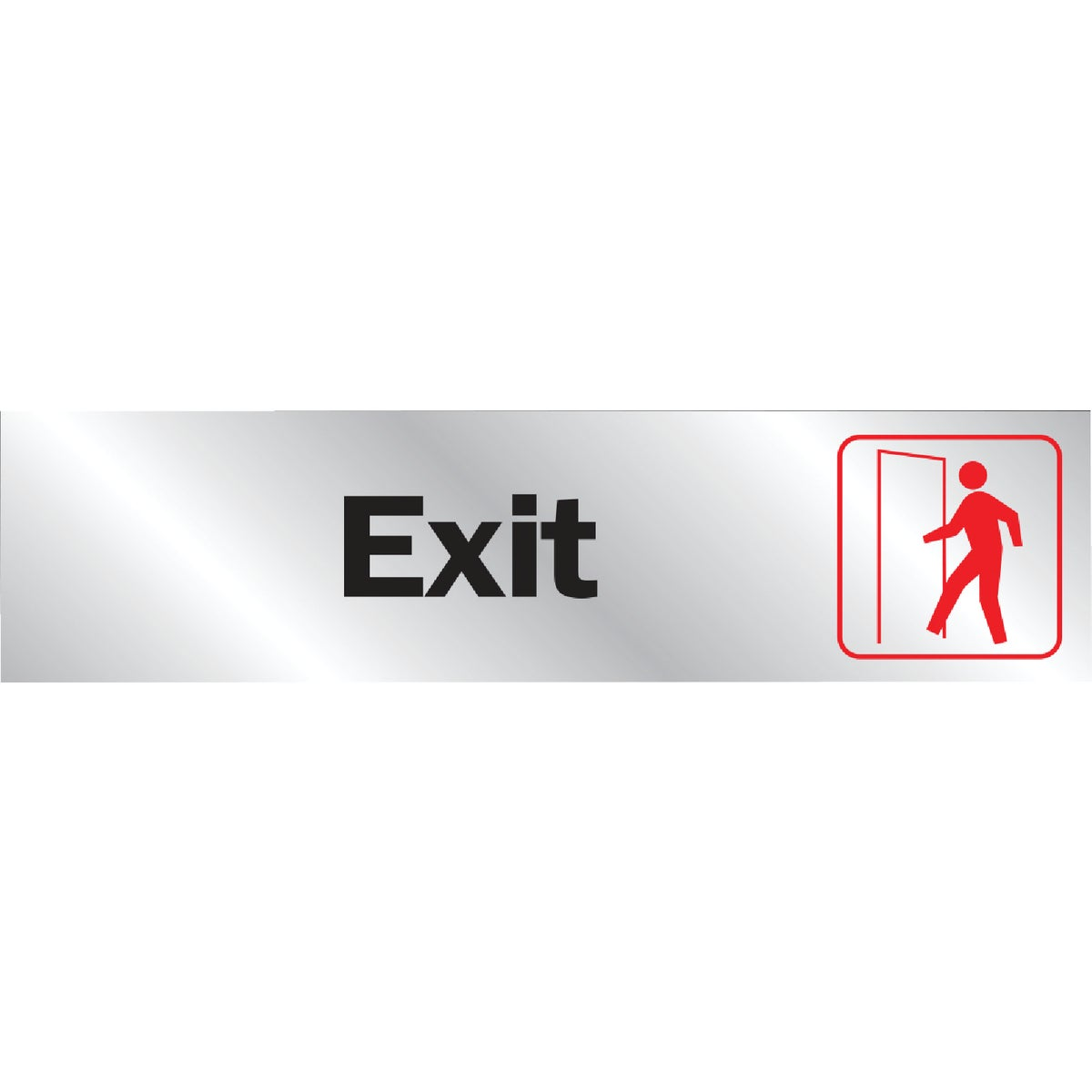8-1/2X2 EXIT SIGN - 411 by Hy Ko Prods Co