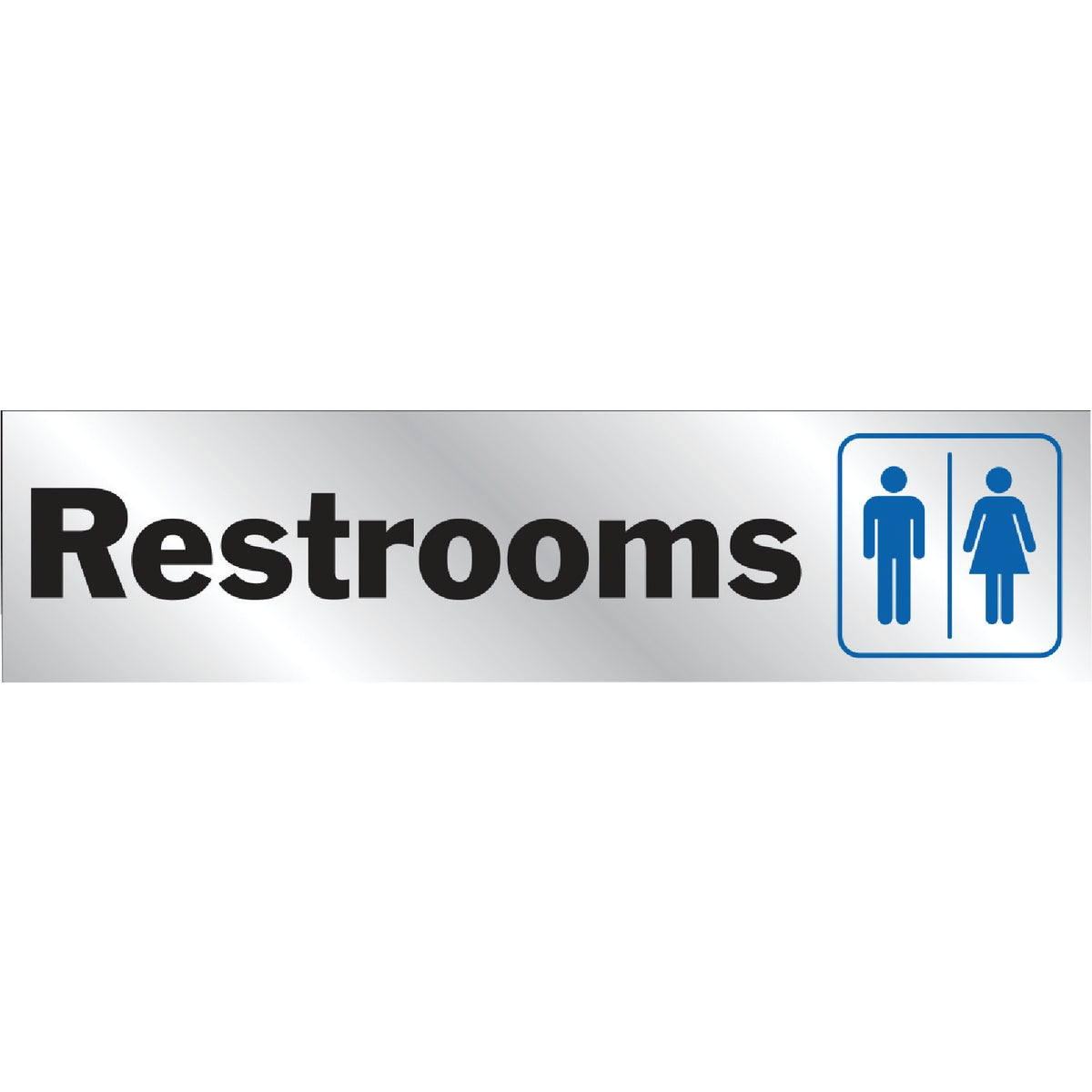 8-1/2X2 REST ROOM SIGN - 437 by Hy Ko Prods Co