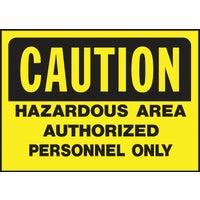 Hy-Ko Caution Sign, 557
