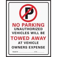 Hy-Ko No Parking Sign, 702