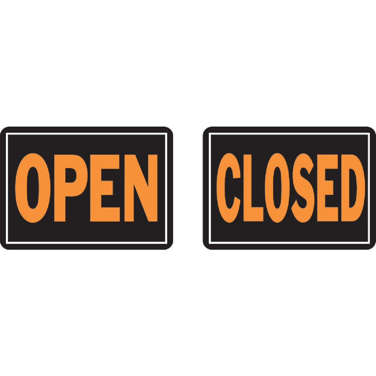10X14 OPEN/CLOSED SIGN