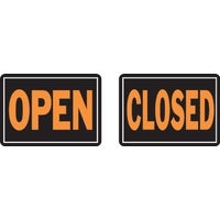 Hy-Ko Open/Closed sign, 820