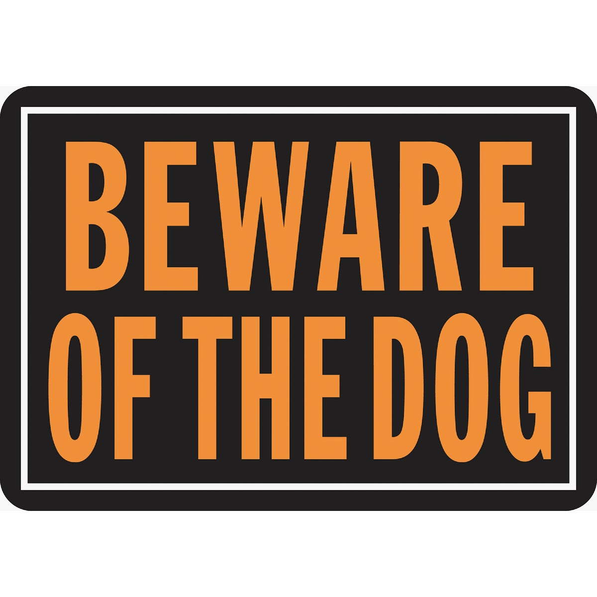 10X14 BEWARE OF DOG SIGN - 838 by Hy Ko Prods Co