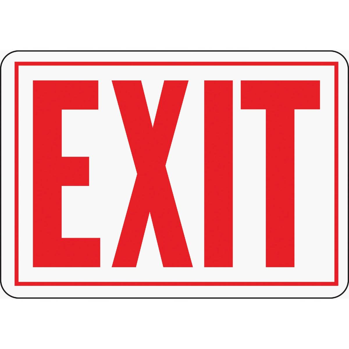 10X14 EXIT SIGN