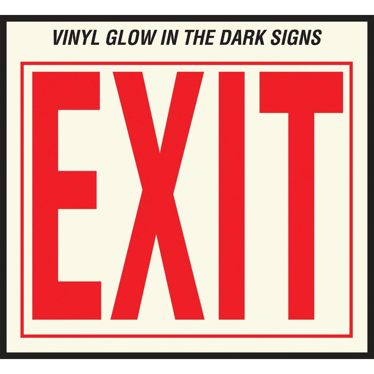 10X12 EXIT SIGN
