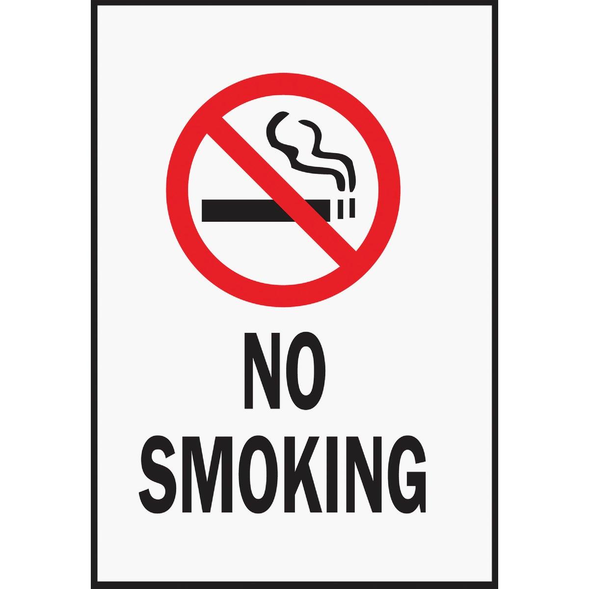 6-3/4X11 NO SMOKING SIGN - HSV-8 by Hy Ko Prods Co