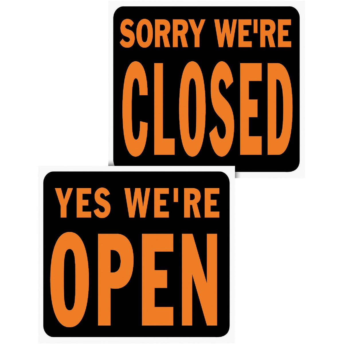 15X19 OPEN/CLOSED SIGN