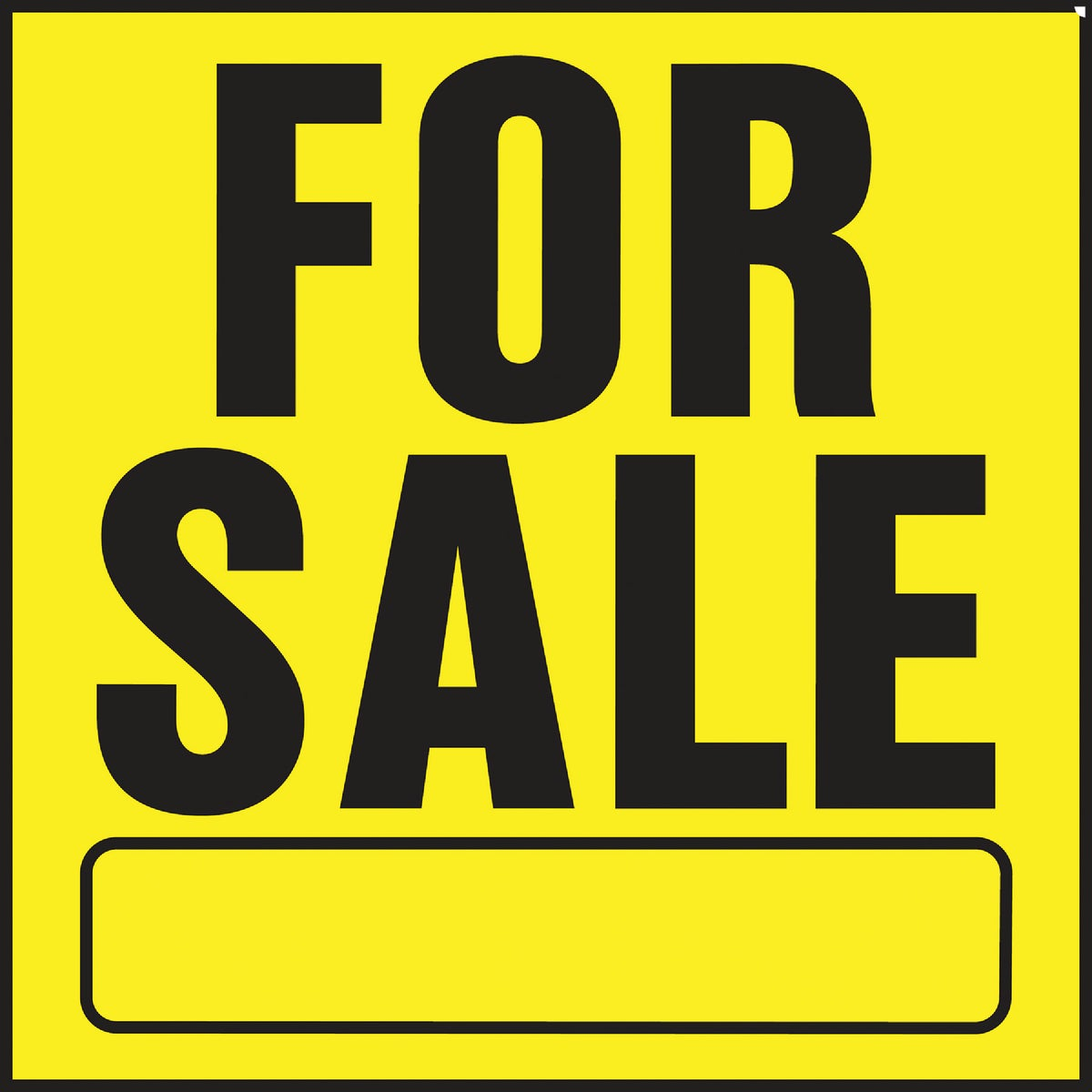 11X11 FOR SALE SIGN