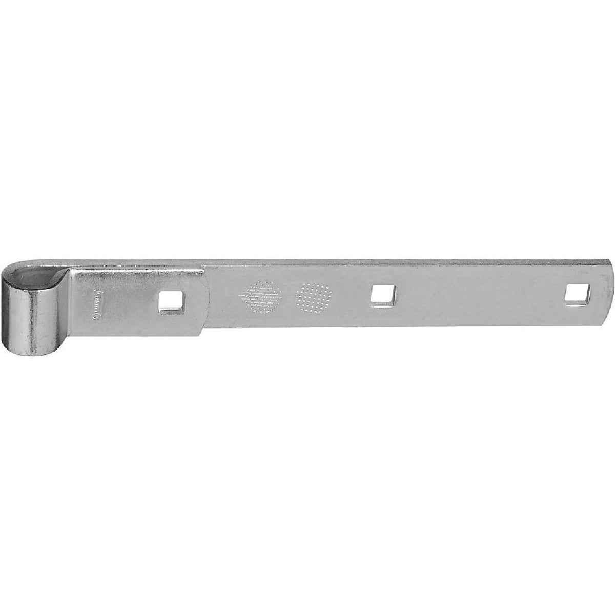 "10"" ZN HINGE STRAP - N130732 by National Mfg Co"