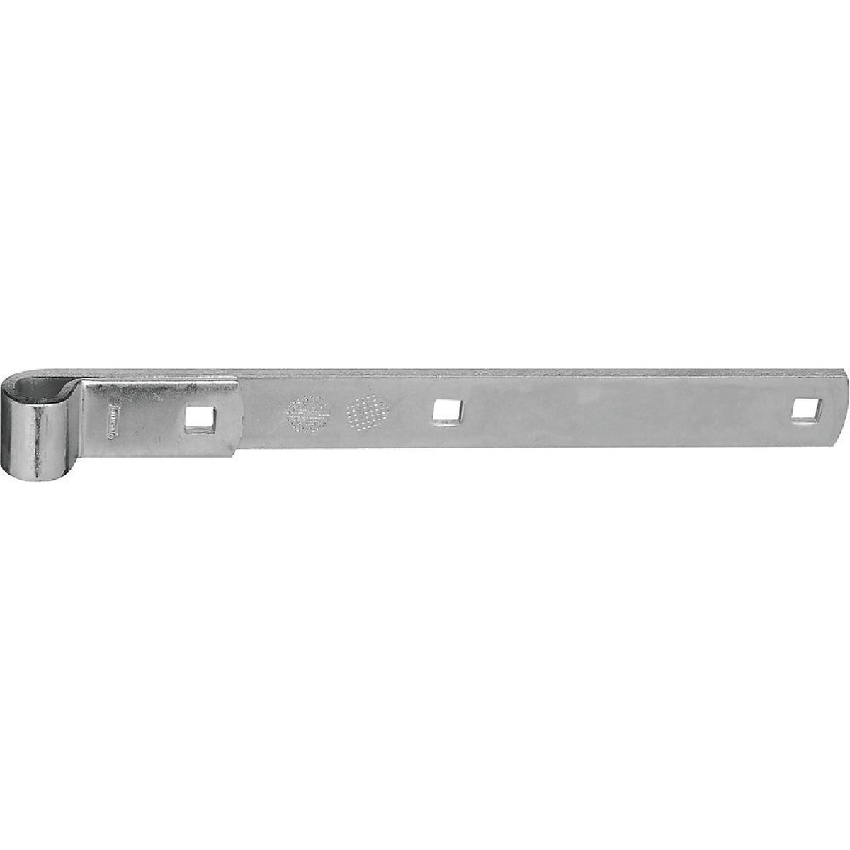 "12"" ZN HINGE STRAP - N130765 by National Mfg Co"