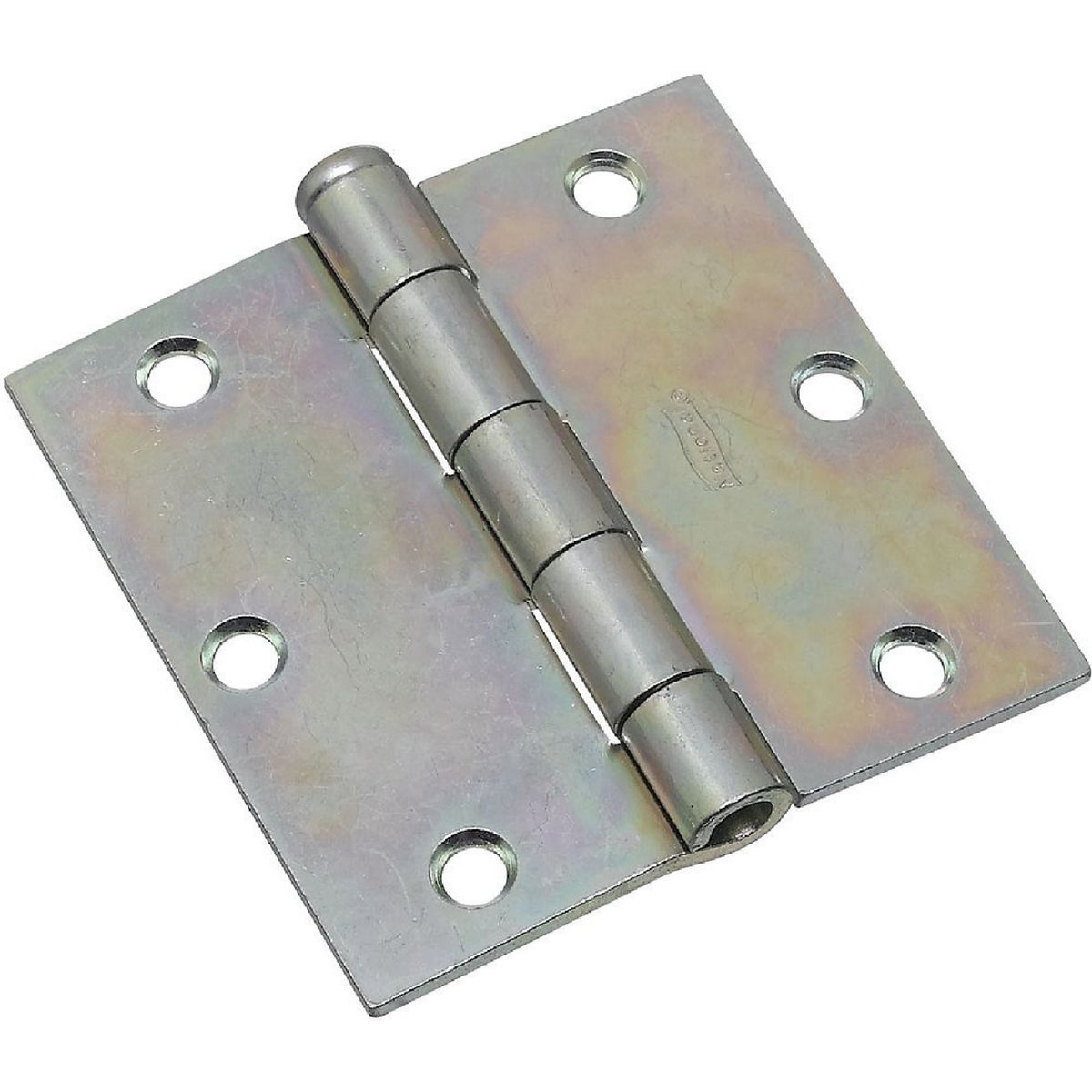 "3-1/2"" ZN BROAD HINGE - N195669 by National Mfg Co"