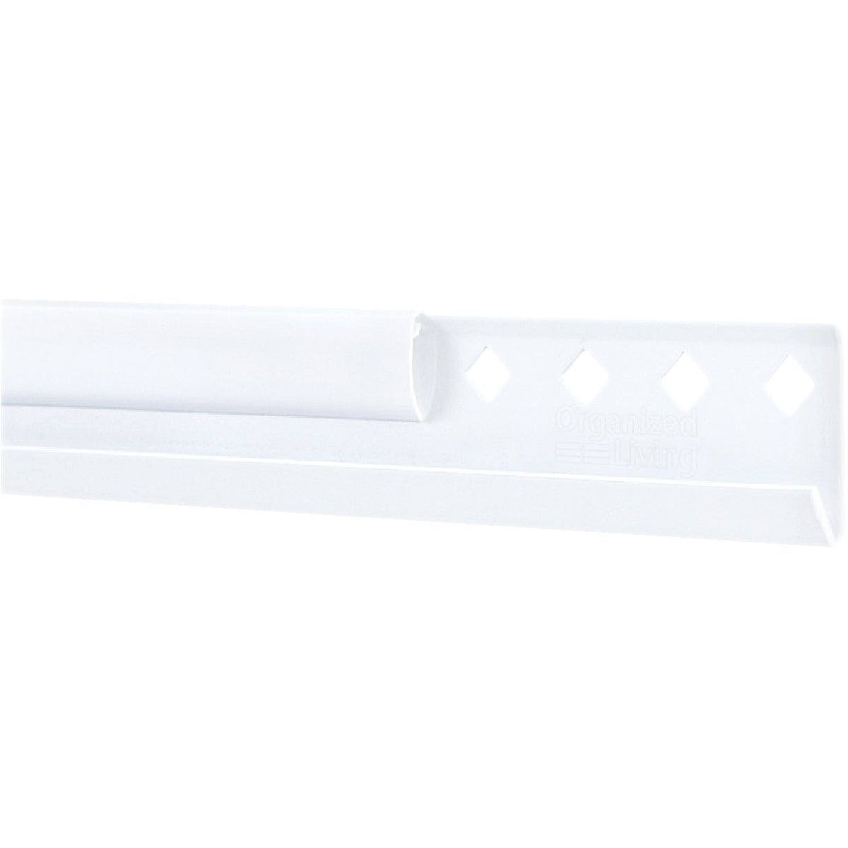 "40"" WHITE HANGING RAIL - 7913444011 by Schulte Corp"
