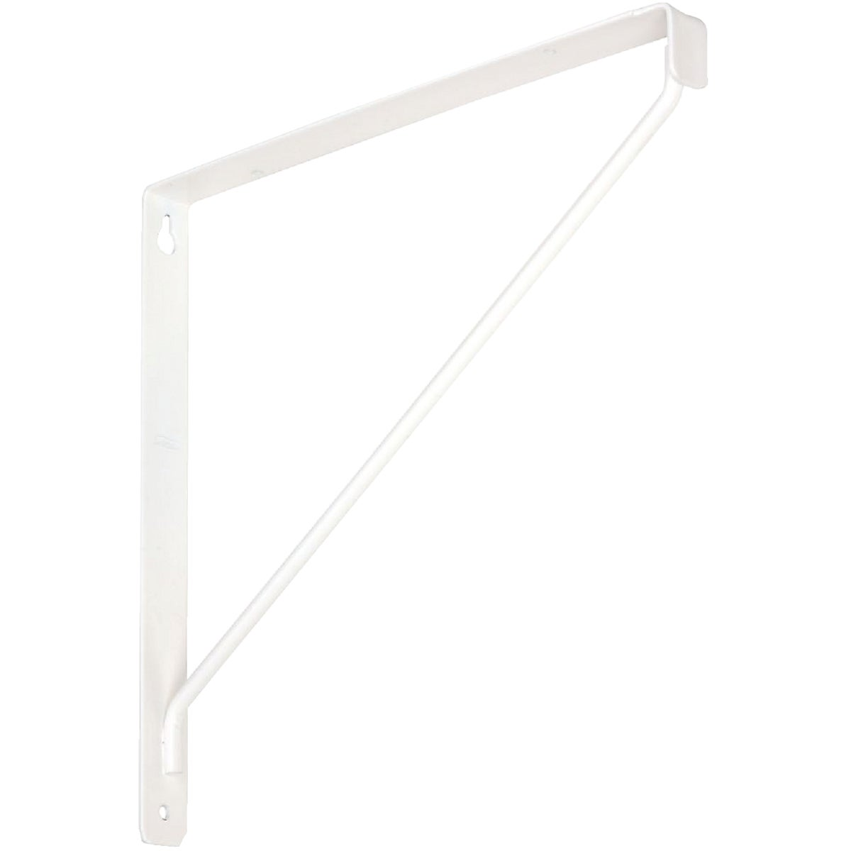 WHT SHELF BRACKET - N234401 by National Mfg Co