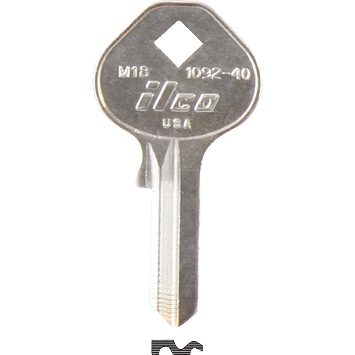 M18 MASTER PADLOCK KEY - 1092-40 by Ilco Corp