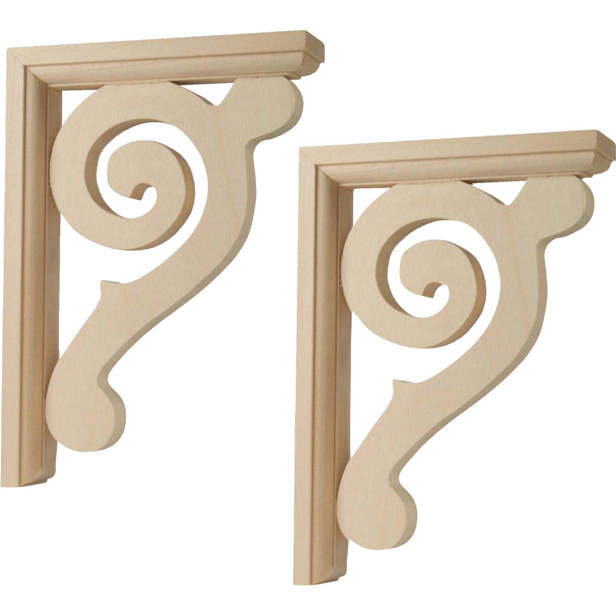 2PK SCROLL CORBEL - CB618/CR77 by Waddell Mfg Company
