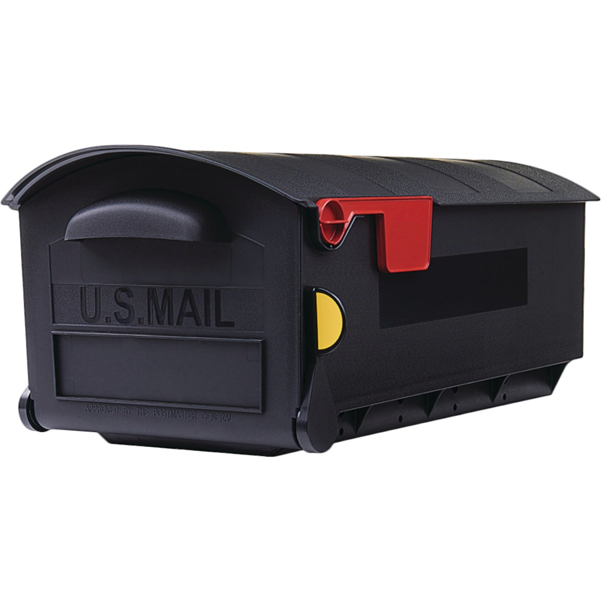 BLK C2 RUBBERMAID MAILBX