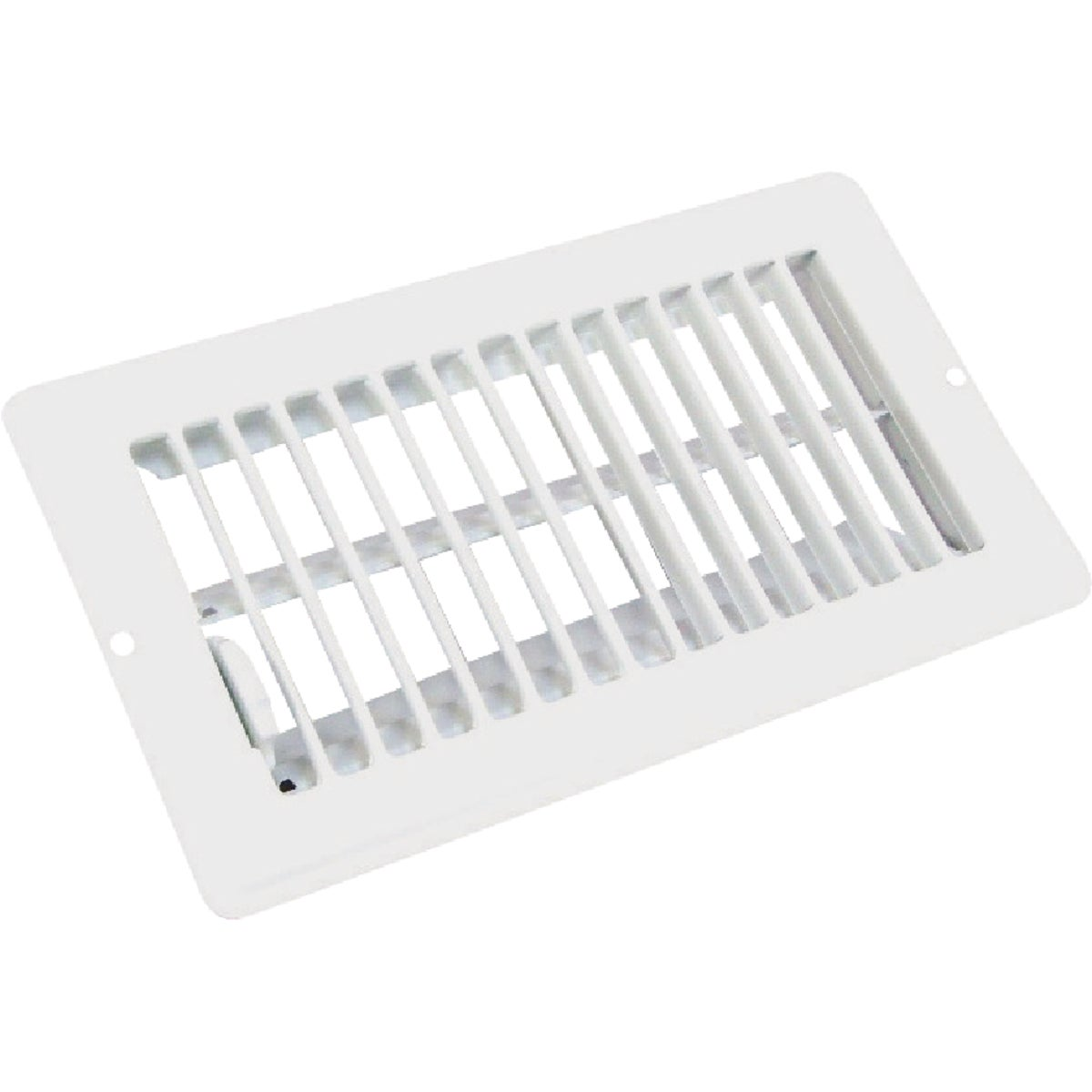 4X8 WHT FLOOR REGISTER - V-056IWB by U S Hardware
