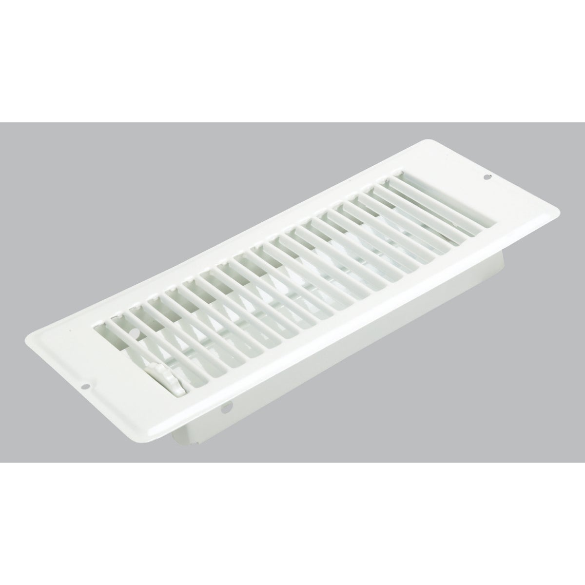 4X10 WHT FLOOR REGISTER - V-057IWB by U S Hardware