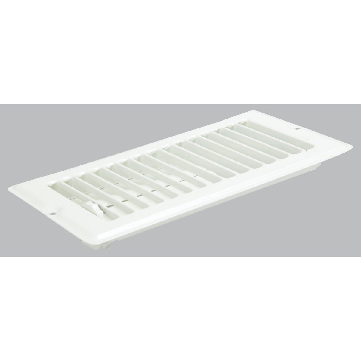 4X8 WHT FLOOR REGISTER - V-102WB by U S Hardware