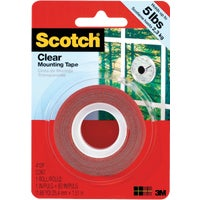 3M 1X60 CLR MOUNTING TAPE 4010