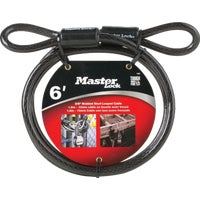 Master Lock 6' STEEL CABLE 78DPF