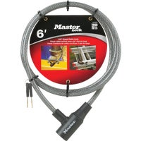 Master Lock 6' KEYED CABLE LOCK 8154DPF