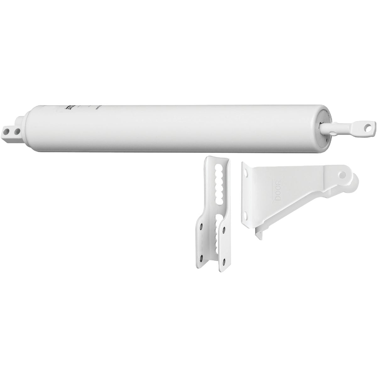 WHT ALUMINUM DOOR CLOSER - V820AWH by Hampton Prod Intl