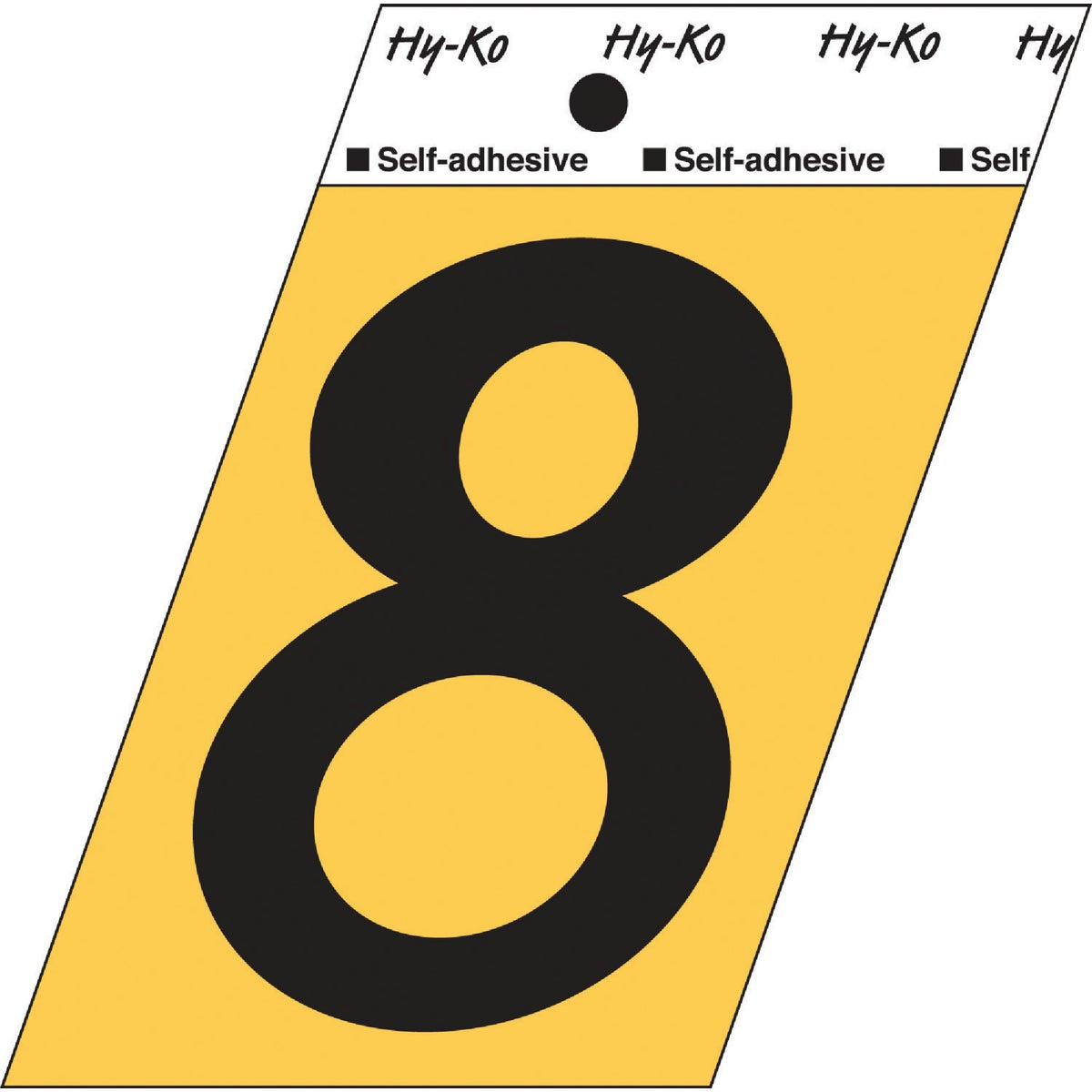"3-1/2""GOLD ALUM NUMBER 8"
