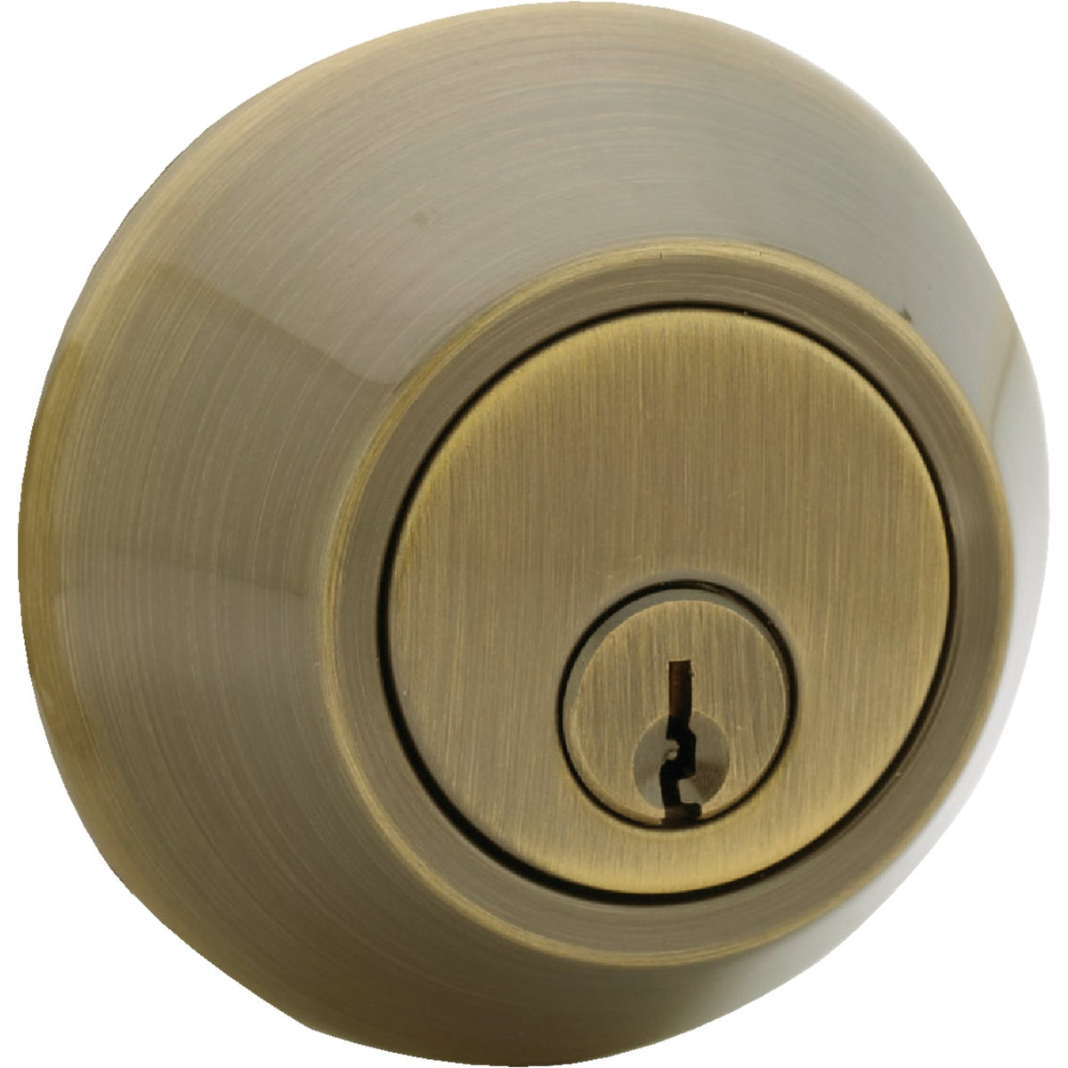AB CP 1CYL DEADBOLT - D101AB CP by Do it Best