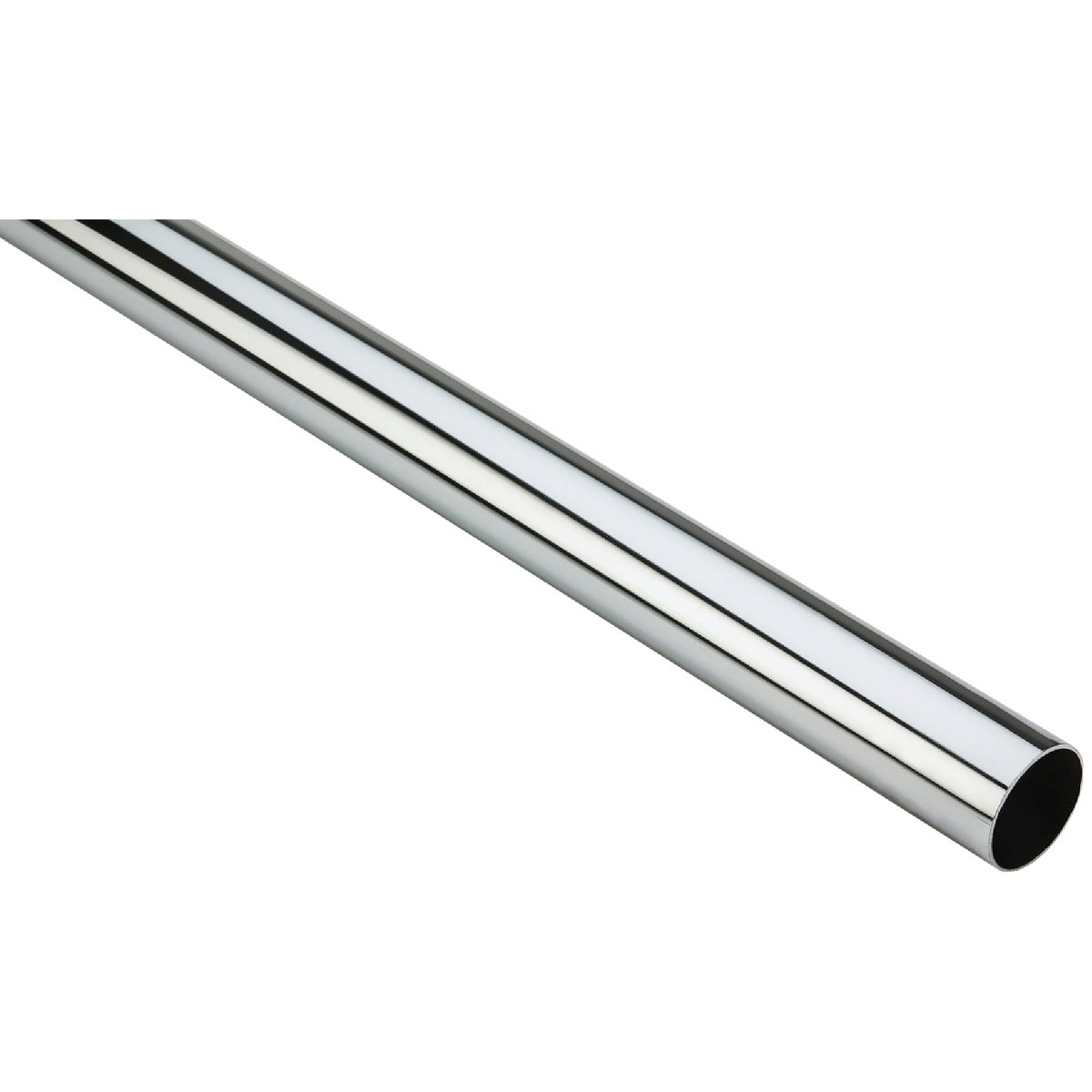 8' CHROME CLOSET ROD - N820027 by National Mfg Co