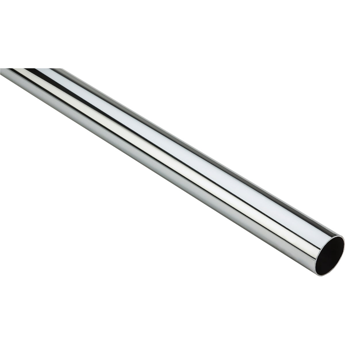 6' CHROME CLOSET ROD - N820076 by National Mfg Co
