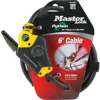 Master Lock 6' LOCKING CABLE 8413XDPF