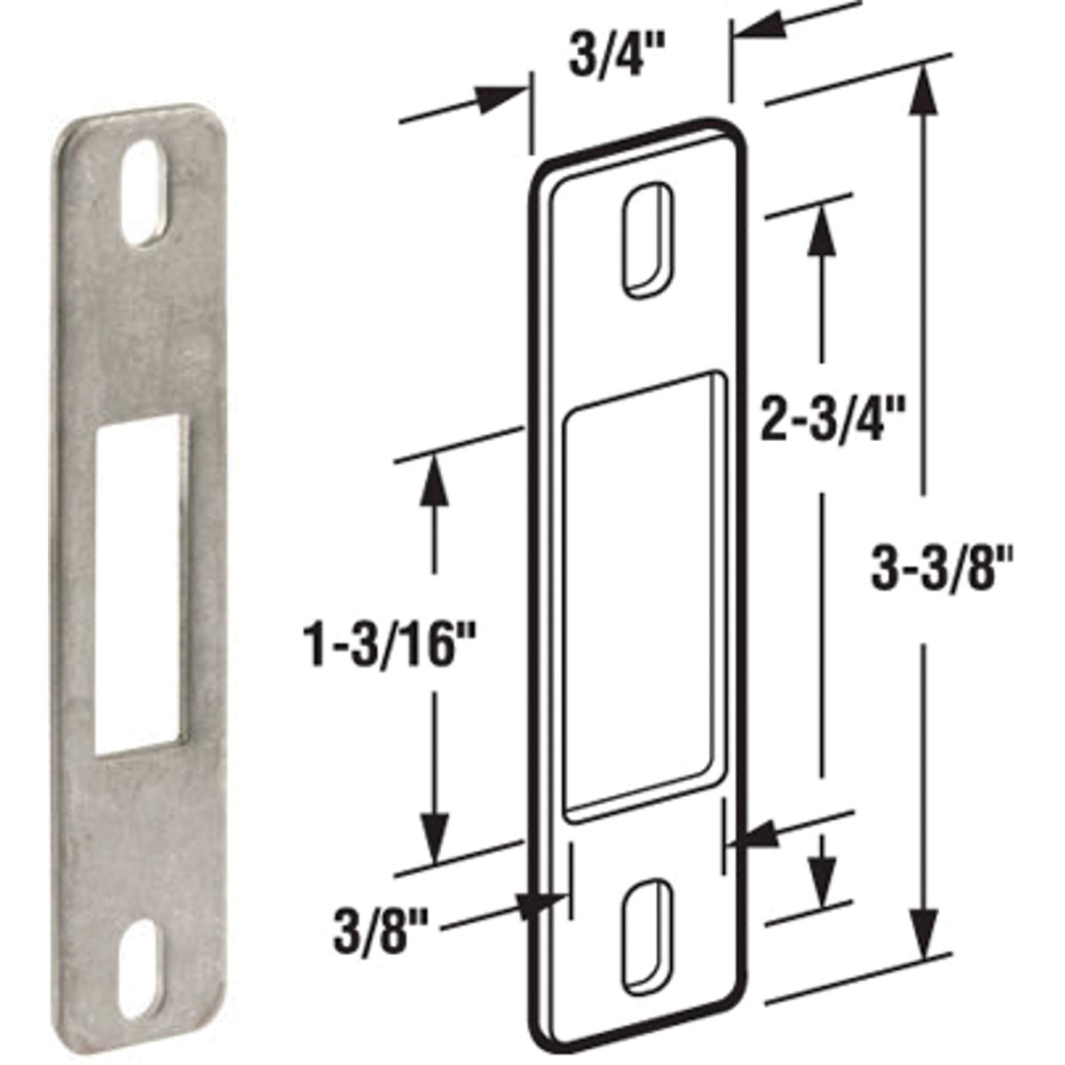 SLIDNG PATIO DOOR KEEPER - 15400-19 by Prime Line Products