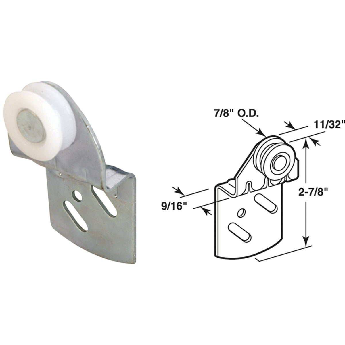 BACK BI-PASS DOOR ROLLER - 161999 by Prime Line Products