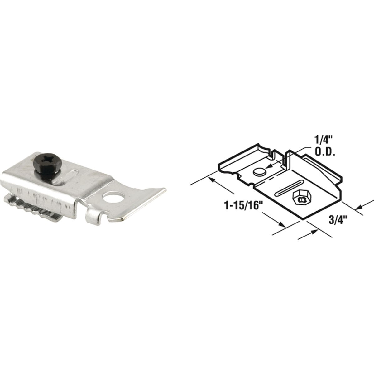 TOP PIVOT BRACKET - 16554 by Prime Line Products
