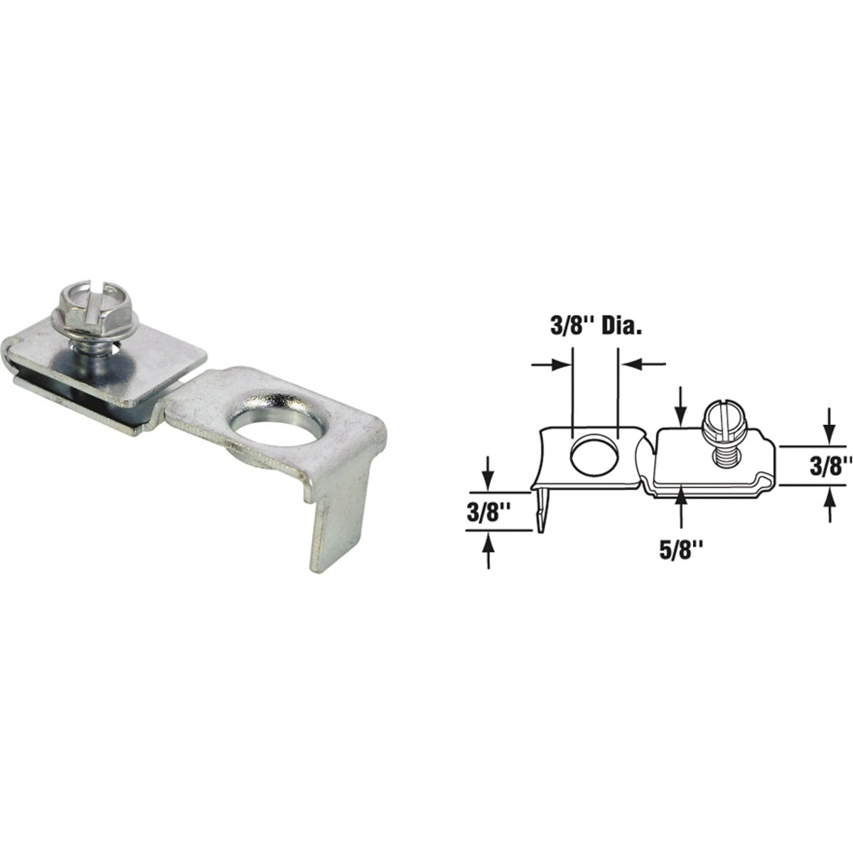 BI-FOLD DR PIVOT BRACKET - 16851 by Prime Line Products