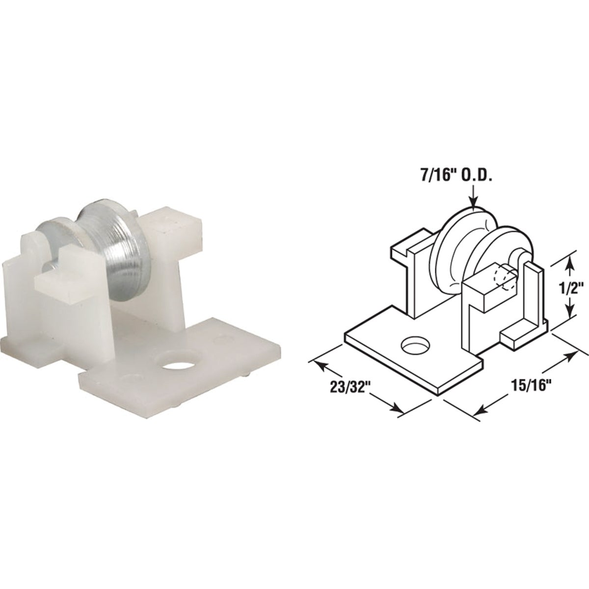 WINDOW ROLLER ASSEMBLY - 171699 by Prime Line Products