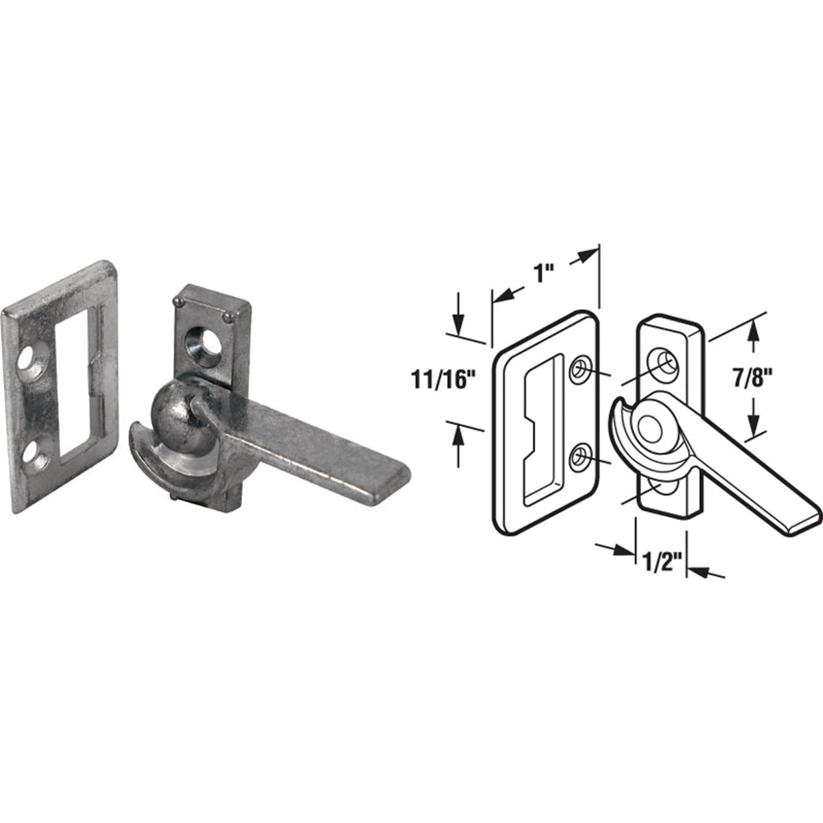LIFT SLD WINDOW LATCH - 17228-L by Prime Line Products