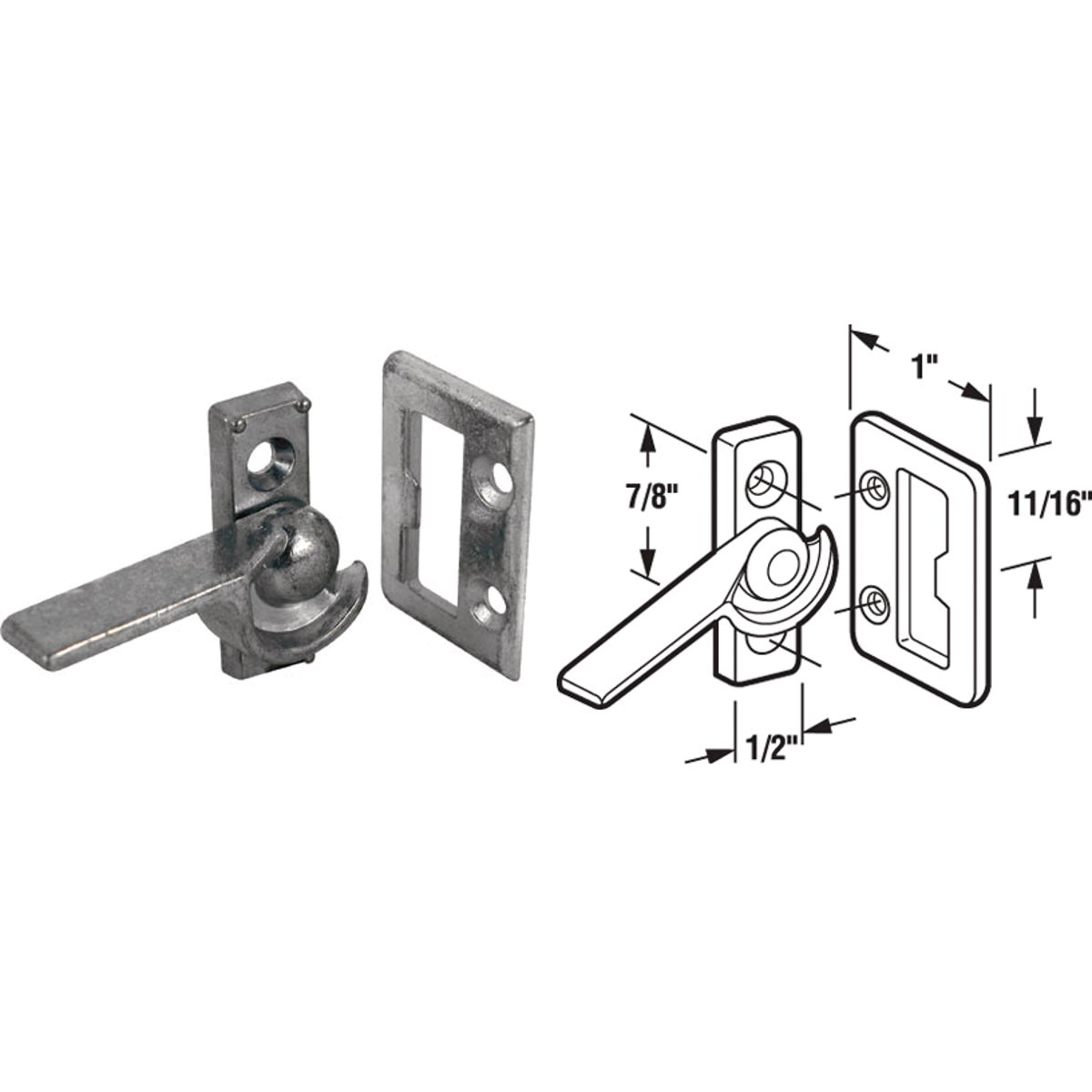 RIGHT SLD WINDOW LATCH