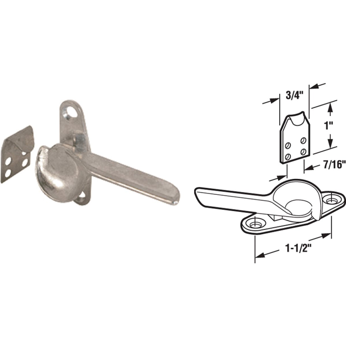 SLIDING WINDOW SASH LOCK - 17445 by Prime Line Products