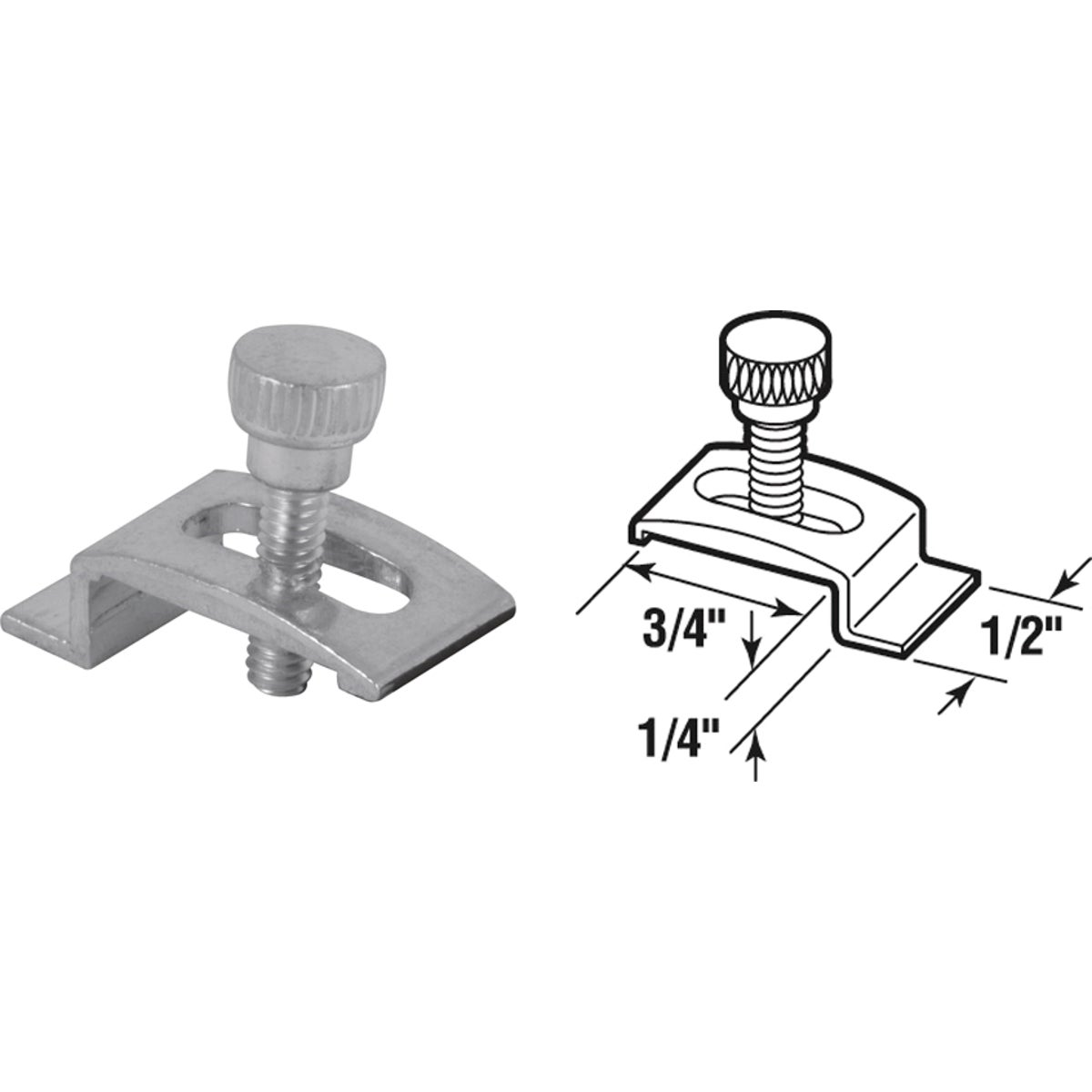 STORM WINDOW PANEL CLIPS - 181041 by Prime Line Products
