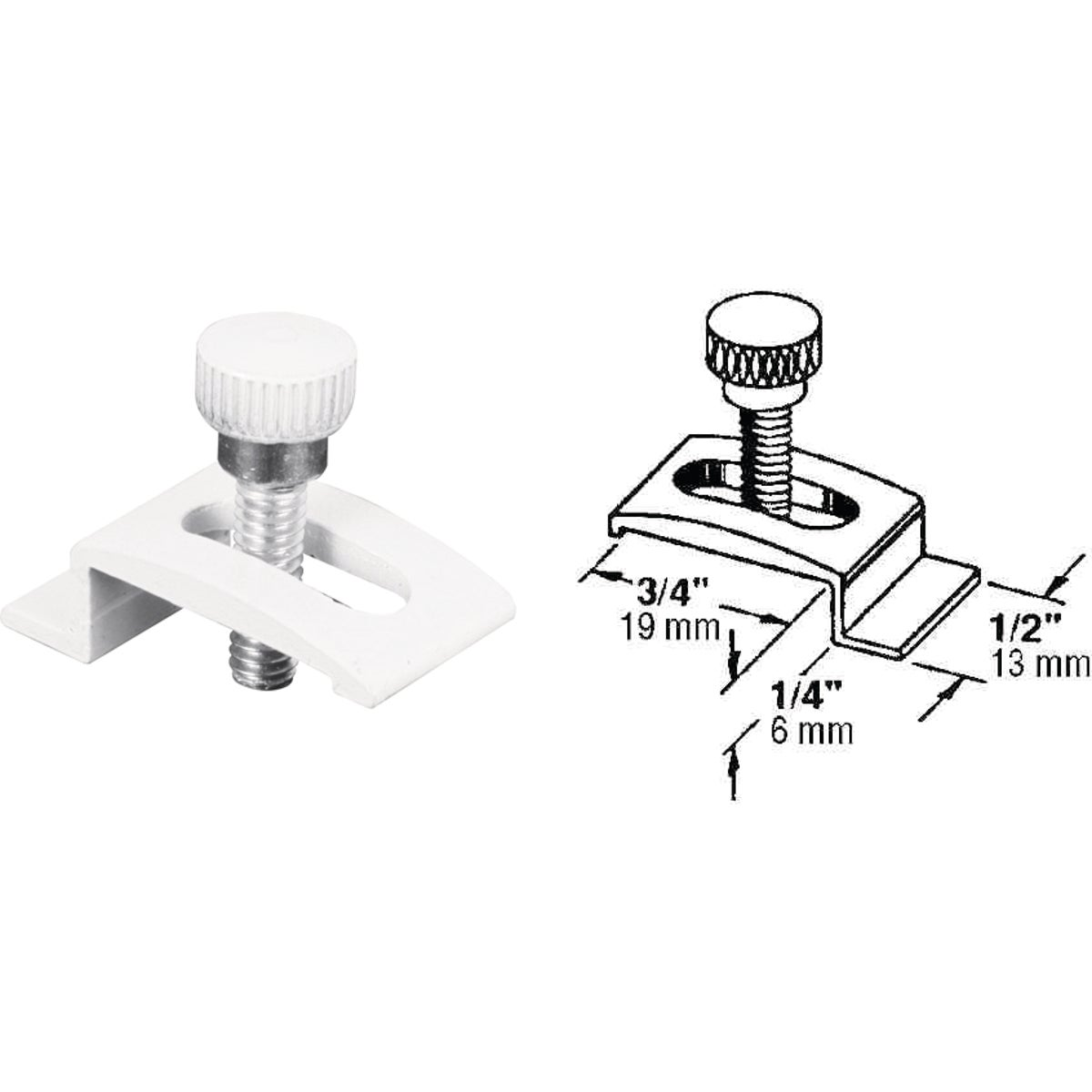 Storm Window Panel Clips