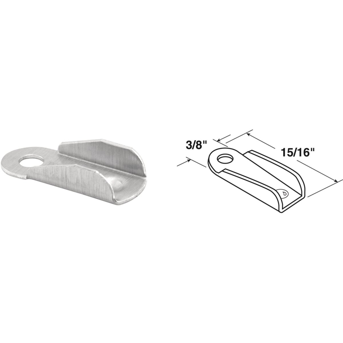 WIND SCREEN WING CLIPS - 181785 by Prime Line Products