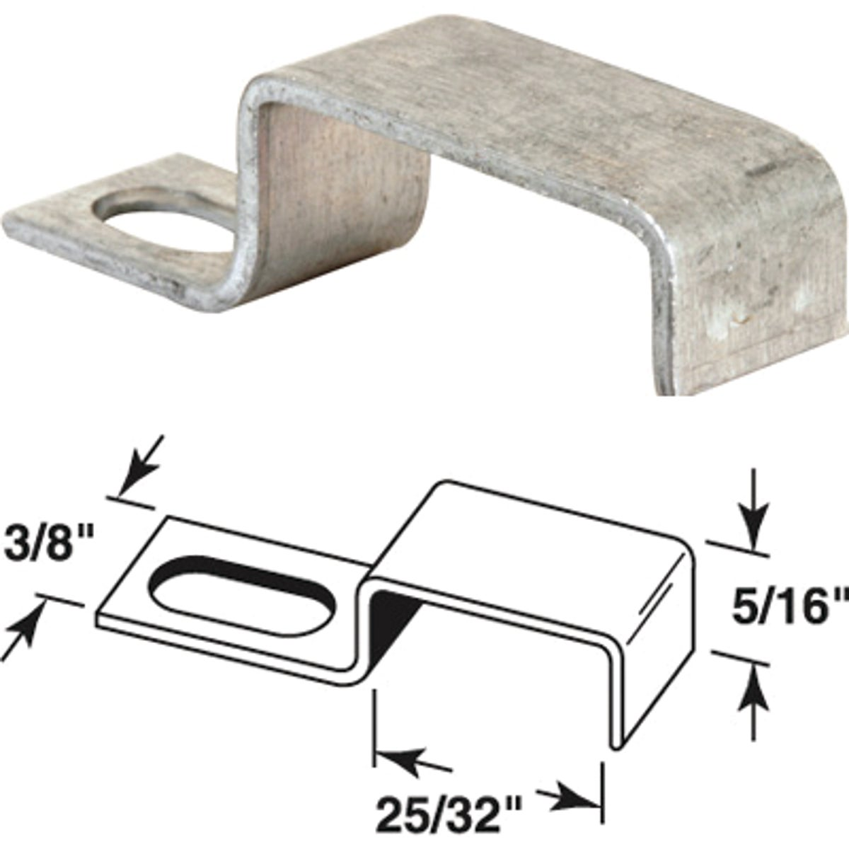 STORM WINDOW PANEL CLIPS - 182032 by Prime Line Products