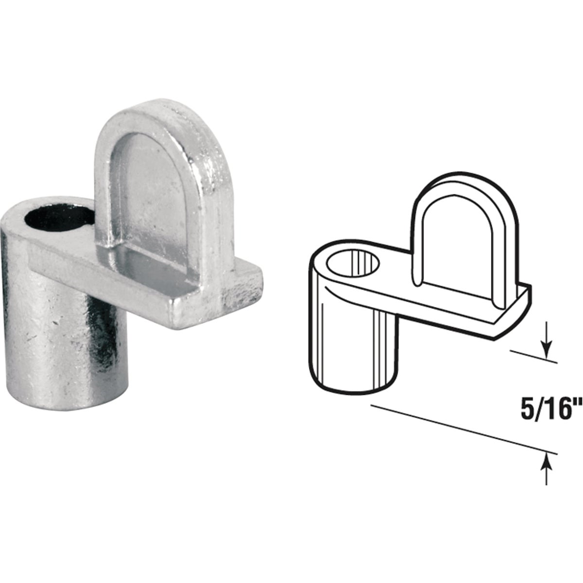 WINDOW SCREEN CLIPS - 182930-5 by Prime Line Products