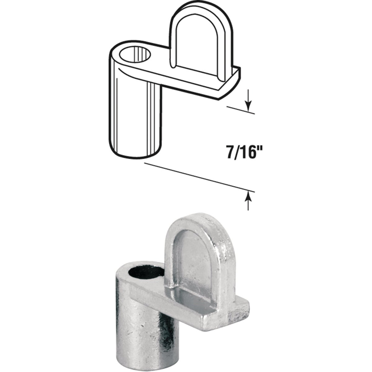 WINDOW SCREEN CLIPS - 182930-7 by Prime Line Products
