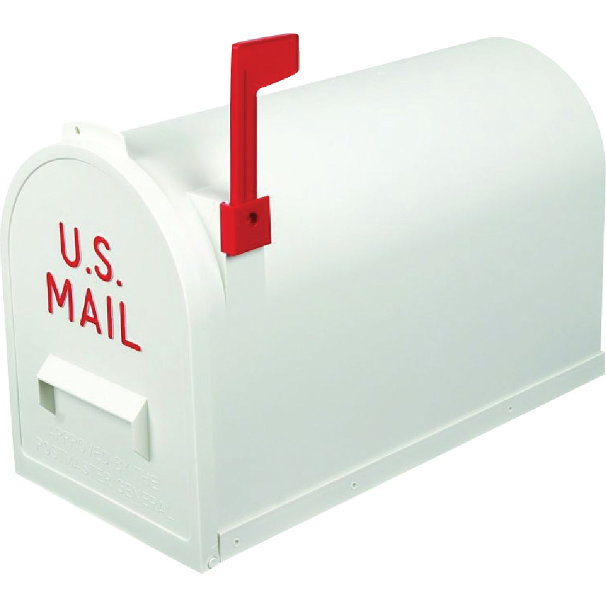 #2 WHITE POLY MAILBOX - TR7003WT by Flambeau Products Co