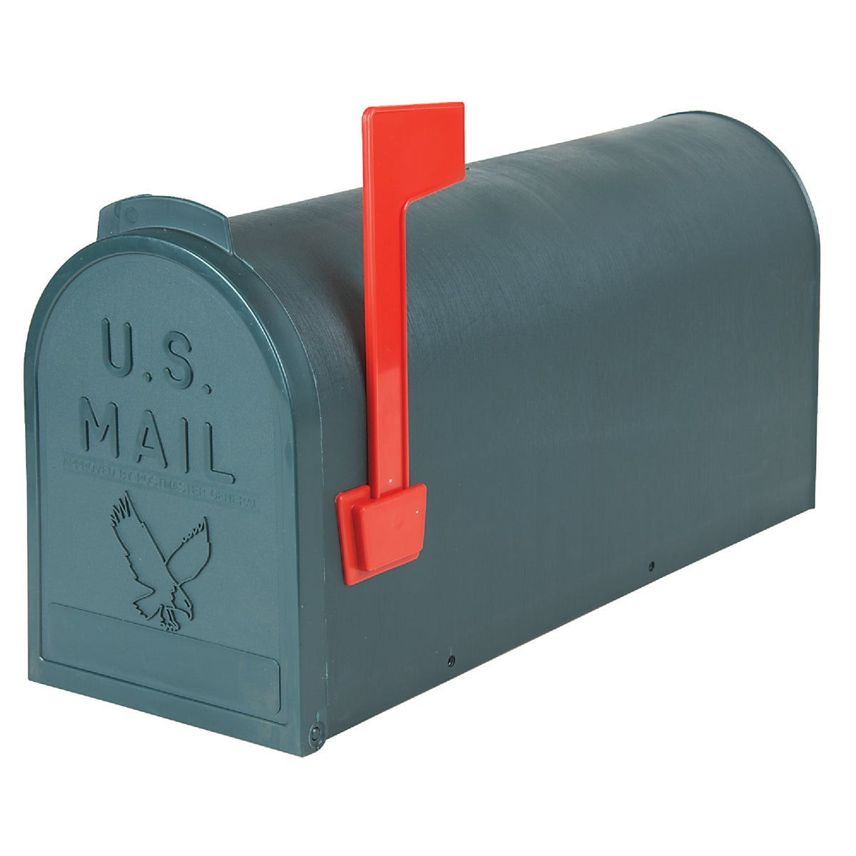 #1 GREEN POLY MAILBOX